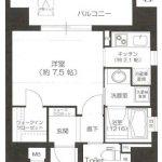 リーガル四ツ橋ドゥーエ 9階 1K 1980万円